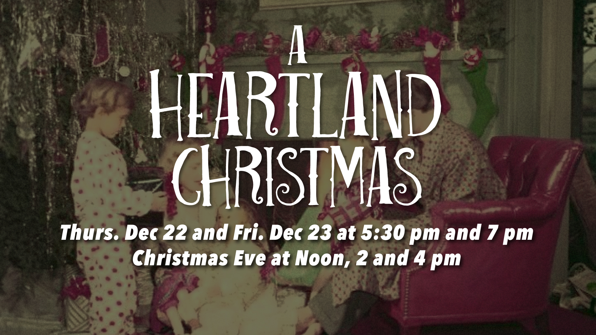 A Heartland Christmas.A Heartland Christmas 2016 Heartland Community Church